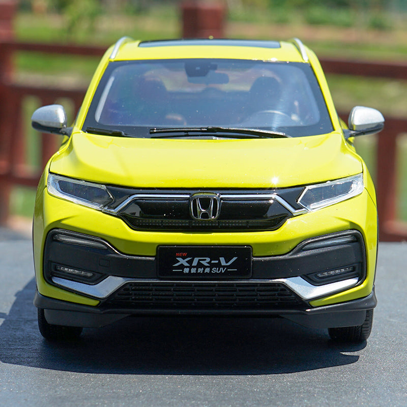 1:18 Original Honda XRV XR-V 2019 Diecast car model with small gift