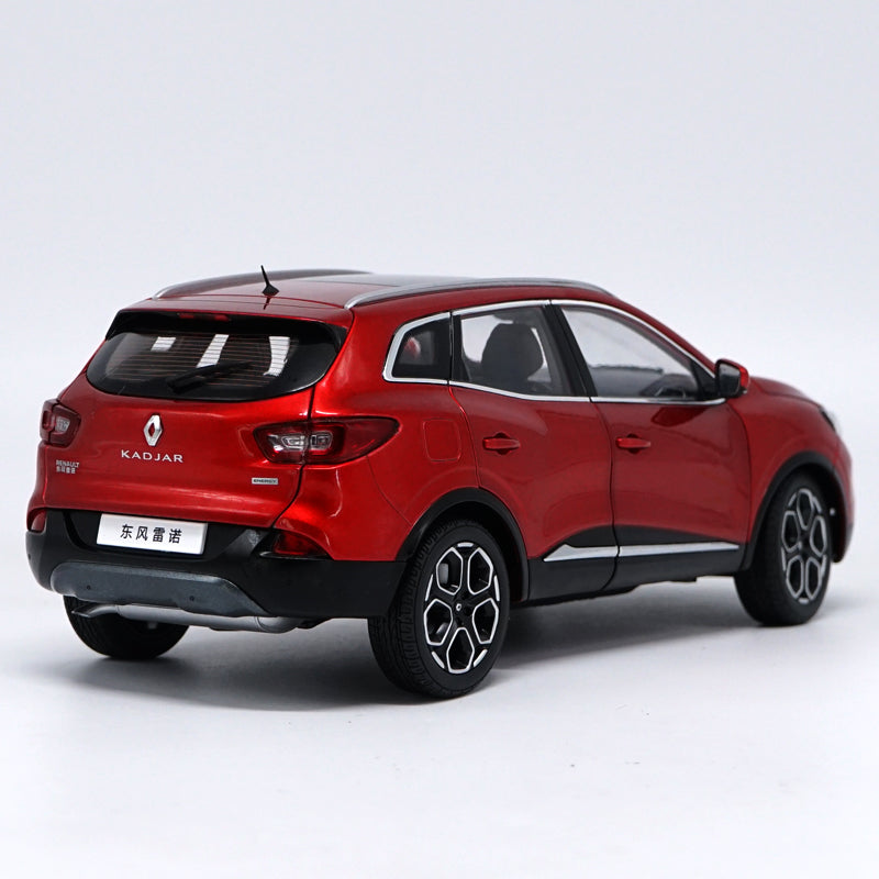 Original factory authentic 1:18 RENAULT KADJAR SUV off road vehicle diecast car model with small gift