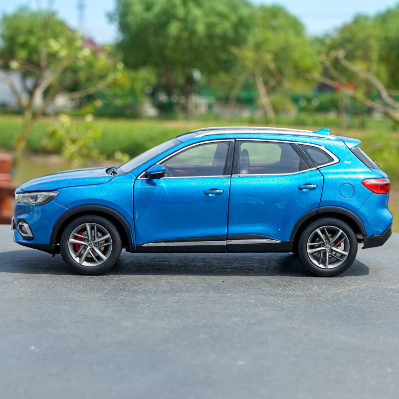 1/18 SAIC MG HS SUV diecast car model with small gift