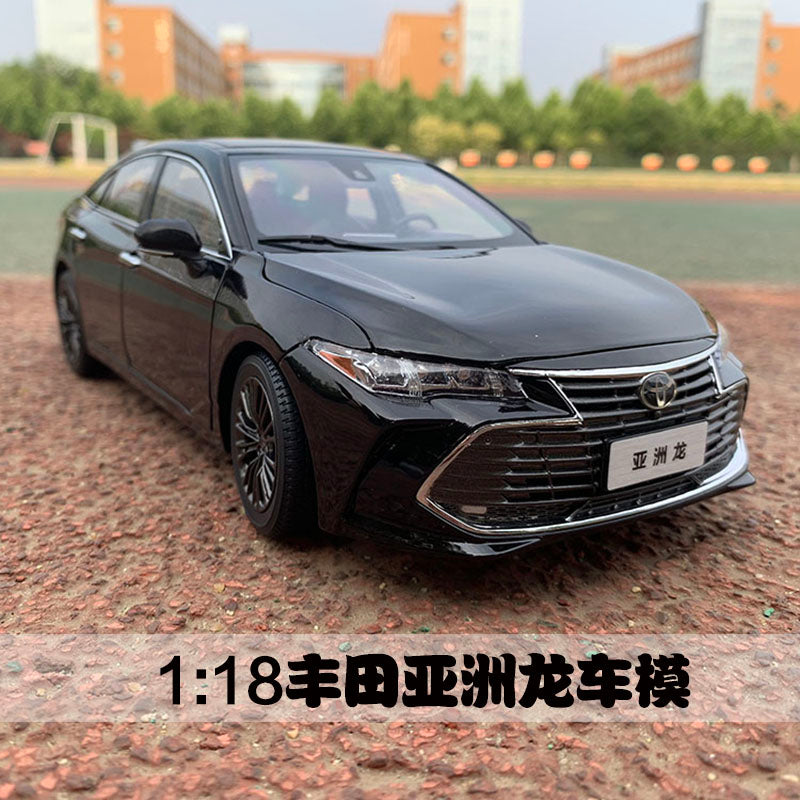 1:18 TOYOTA AVALON ORIGINAL BLACK CARBON/CRYSTAL BROWN CAR COLLECTION DIECAST DIE-CAST MODEL CARS
