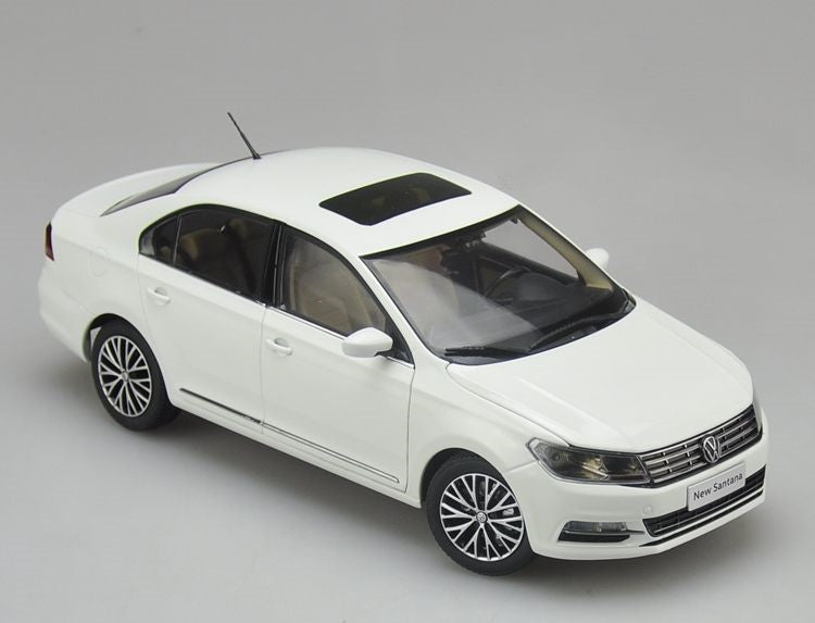 Original factory authentic 1:18 VW New santana 2017 version diecast car model with small gift