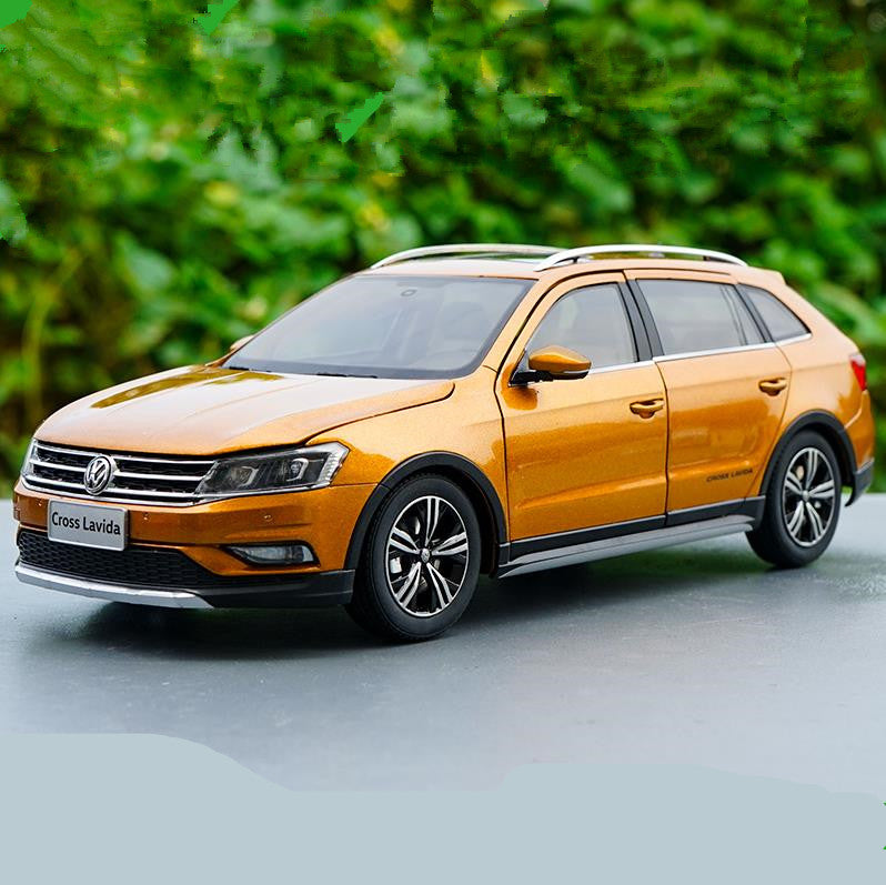 Original factory authentic 1:18 VW cross Lavida 2016 diecast car model for toys, gift, collection