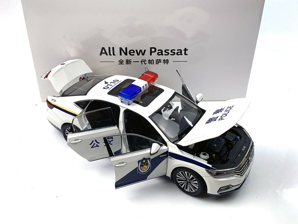1:18 Volkswagen All New Passat Die-Cast Metal Model, Die cast passat police car model