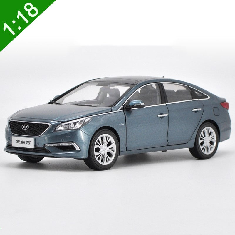 Original factory authentic Hyundai 1:18 alloy toy vehicle metal Sonata 9 diecast car model with small gift