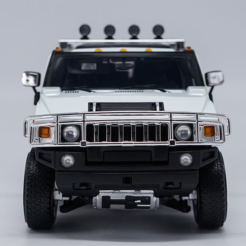 Original factory authentic 1:18 metal H2 SUV Hummer Highway 61 diecast car model with small gift