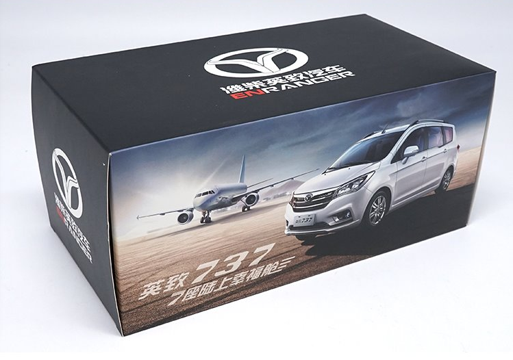 Original factory authentic 1:18 weichai 737 diecast car model with small gift
