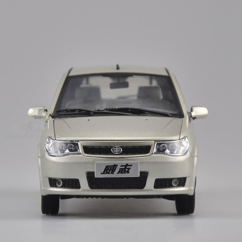 Original factory authentic 1:18 Tianjin FAW TJFAW Vizhi 2008 version diecast car model for toys, gift, collection