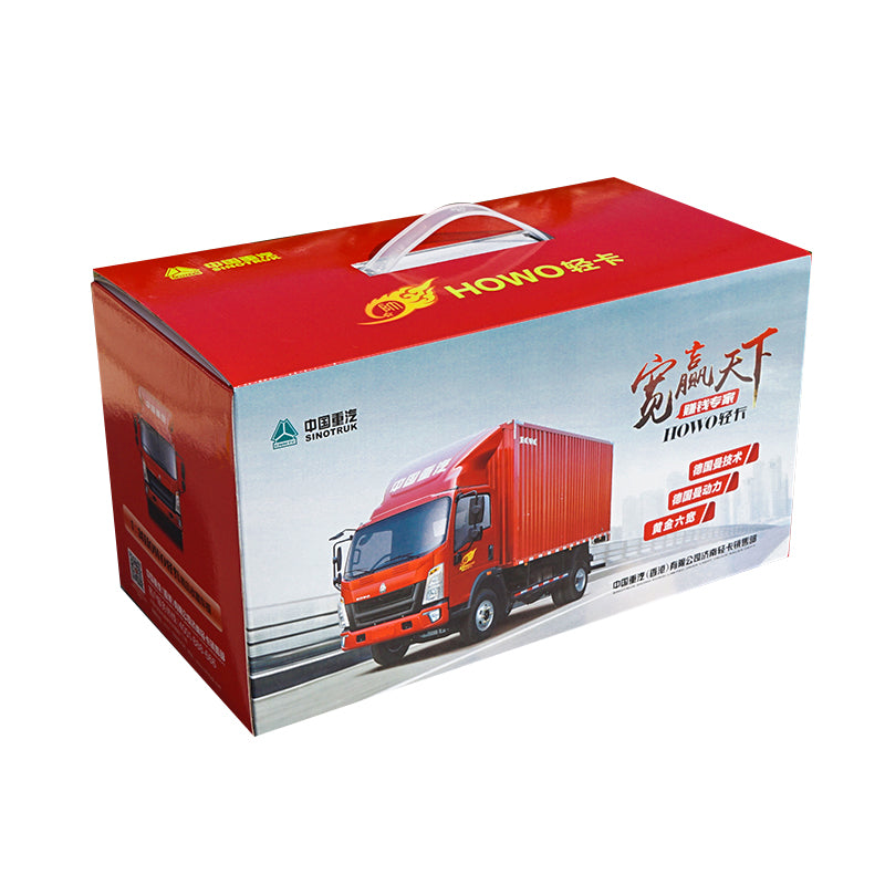 1:24 China sinotrukHOWO Light Truck DIECAST MODEL with gift