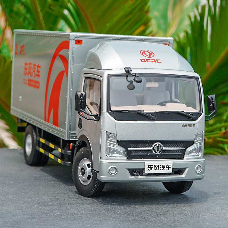 1:24 Dongfeng Capt van container truck with small gift