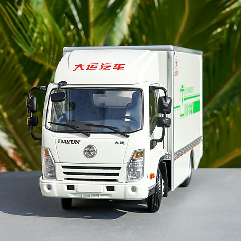 1:24 dayun E3 pure electric van truck model, Diecast Dayun E3 light truck model
