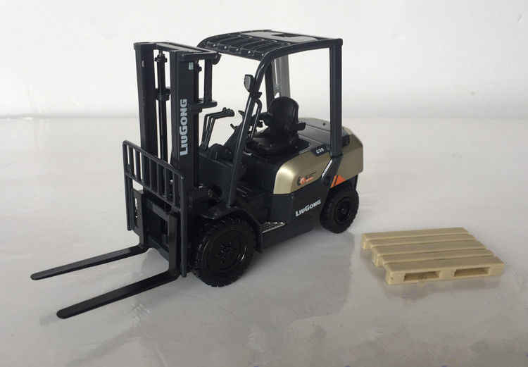 1:25 Scale Liugong CLG2030H Heavy Fork Lift Engineering Machinery Diecast Toy Model