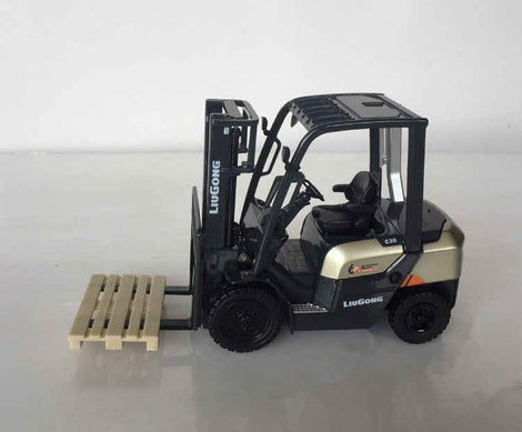 Original factory 1:50 Konecranes Diecast Container Forklift Model for gift, collection