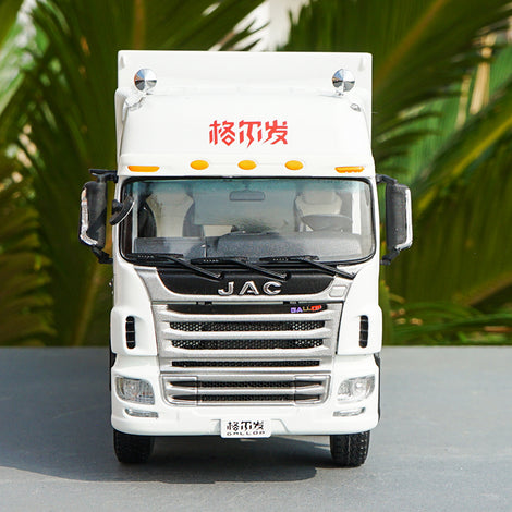 1:32 JAC gallop van container truck model, Diecast JAC GALLOP K5W container truck model
