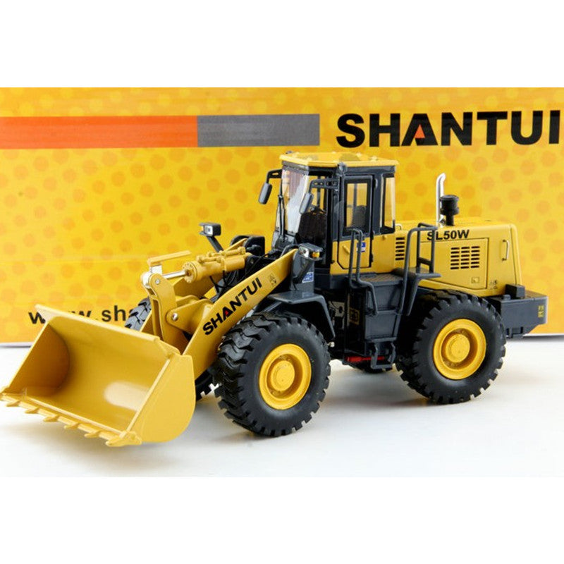 1:35 Scale Yellow SL50W Diecast ShanTui Wheel Loader Model