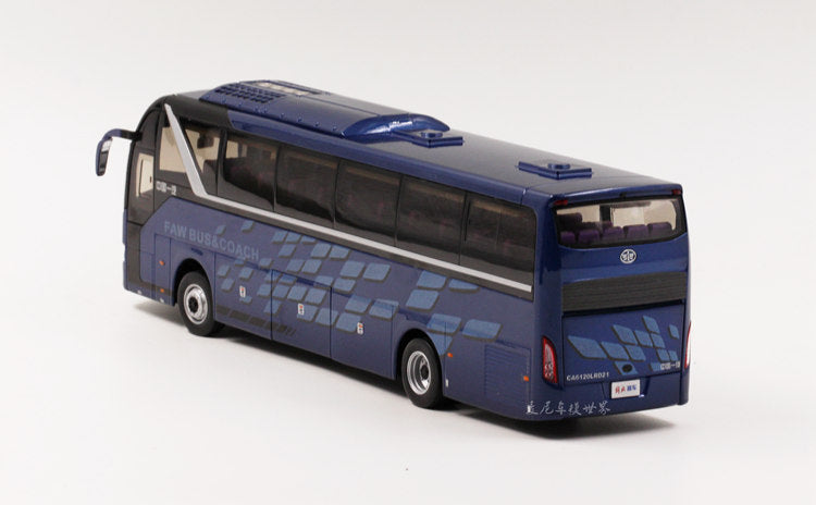 1:36 FAW jiefang CA6120RD21 travel bus model