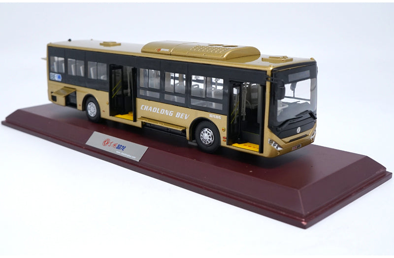 1:42 Dongfeng Chaolong New Energy BEV Electric Bus Model With Gift box