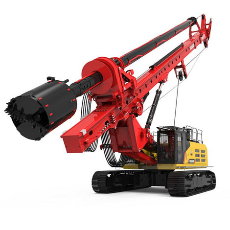 Large scale 1 35 Sany Sr360rh HUGE Rotary Drilling Rig Diecast Toy Model