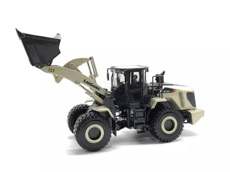 1:35 LIUGONG 870H mechanical loader (Champaign gold)