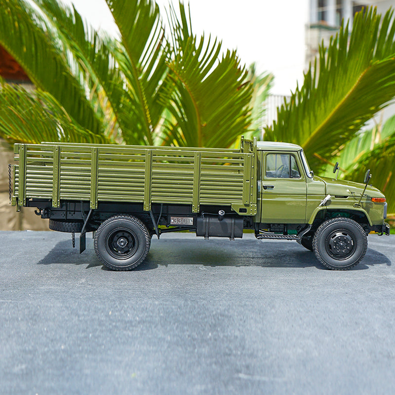 Original factory 1:24 Century Dragon FAW CA141 military cargo truck model for gift, collection,toy