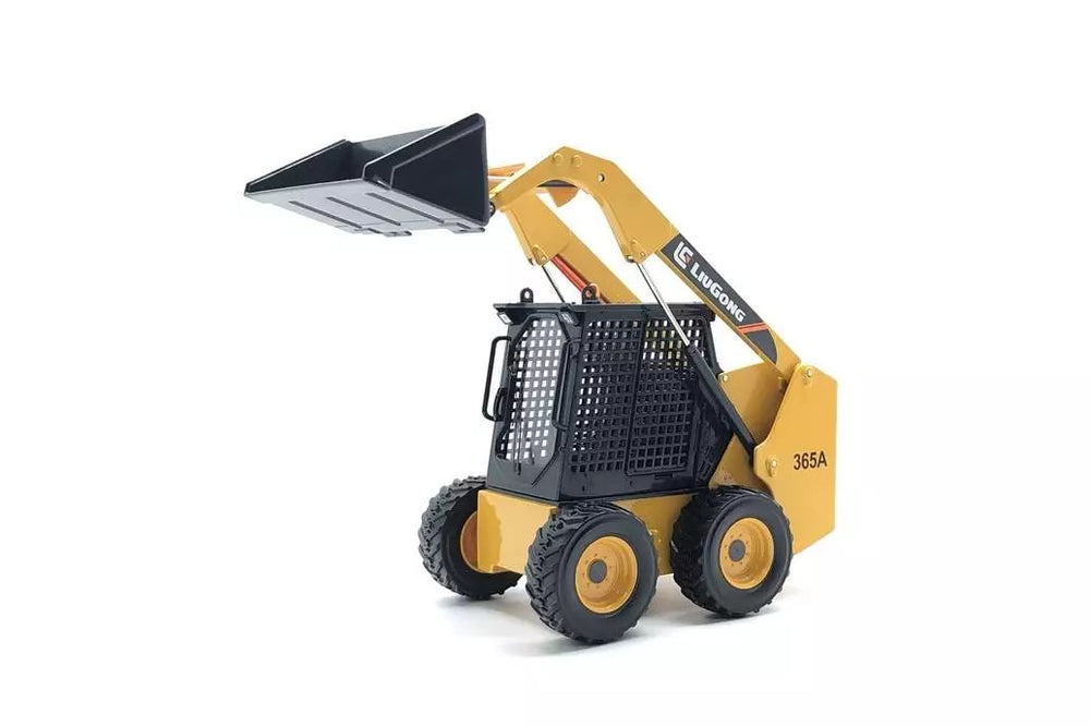 High quality zinc alloy 1:20  LIUGONG CLG 365A metal Skid steer loader models
