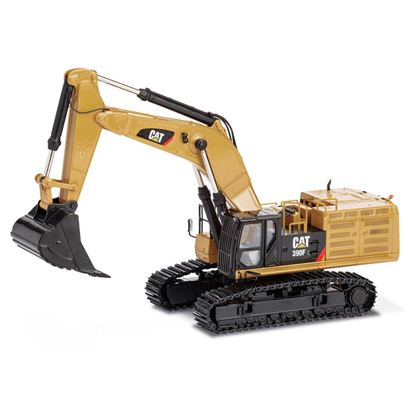 1:50 CAT 390F L Engineer Excavator Crawler Model With Metal Track