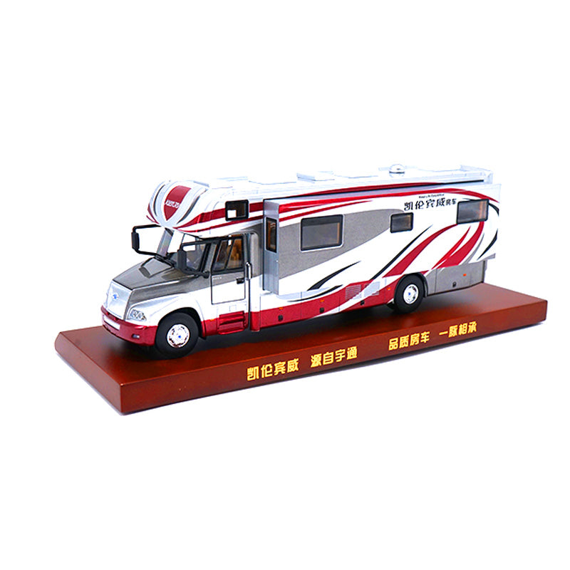 Yutong 1:43 Zk5180 Kien Rv Die Cast Sedan Bus Model Recreational Vehicle WITH SMALL GIFT