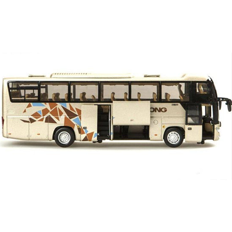1:42 Yutong ZK6118HQY8Y zinc alloy double-deck bus models