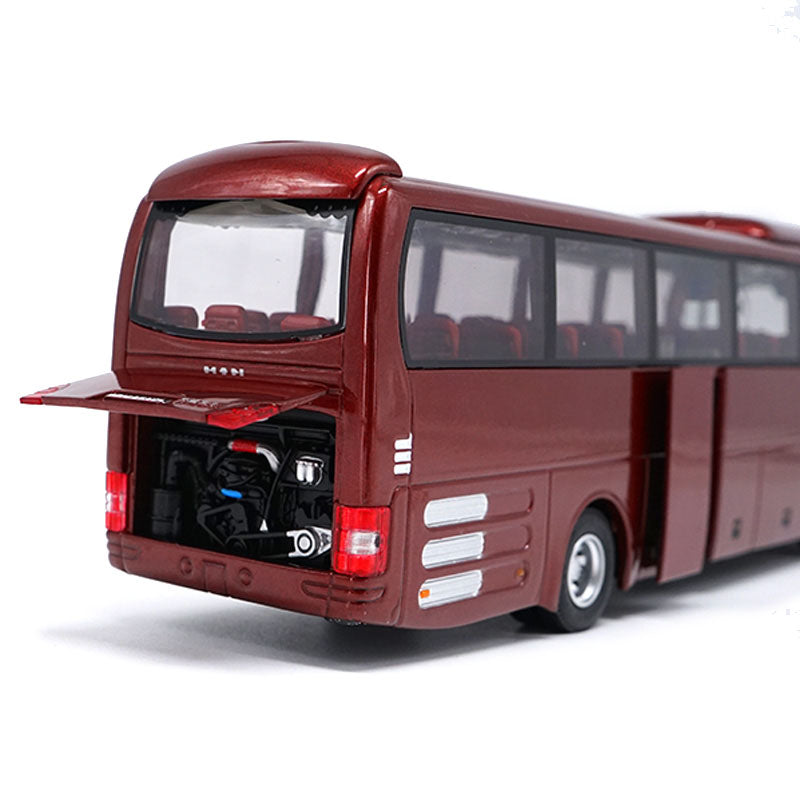 Original 1:42 Diecast Model for Yutong MAN Lion's Star Bus Alloy Toy Car Miniature Collection Gifts ZK6120R41 bus model for christmas gift,Collection,Decoration