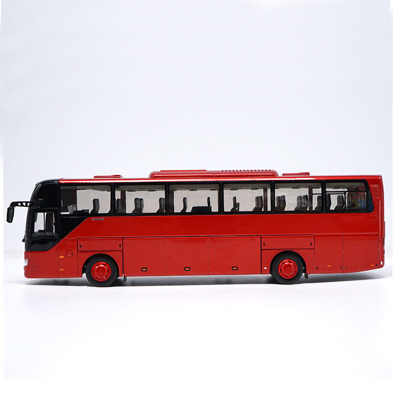 Original Authorized Authentic 1:42 ZK6122h9 bus model Diecast classic toy bus For Christmas gift,Collection,Decoration