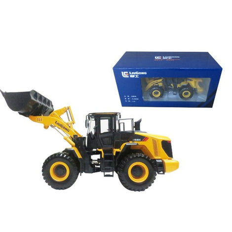 Diecast gold/yellow 1:35 LIUGONG 856H loader models for sale