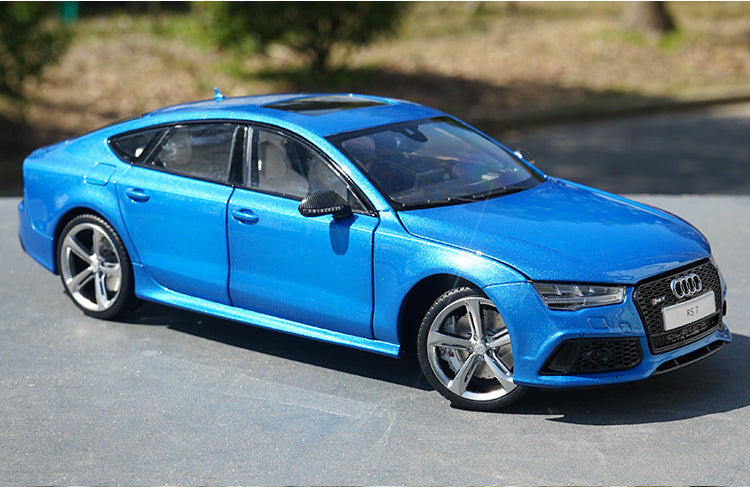 High quality classic authentic Kengfai 1:18 2016 Audi RS7 Sportback diecast alloy car model for gift,collection