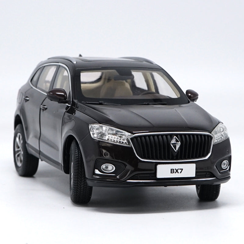 Original Authorized Authentic 1:18 Borgward Bx7 Suv metal scale Classic toy models for christmas/Birthday gift, collection