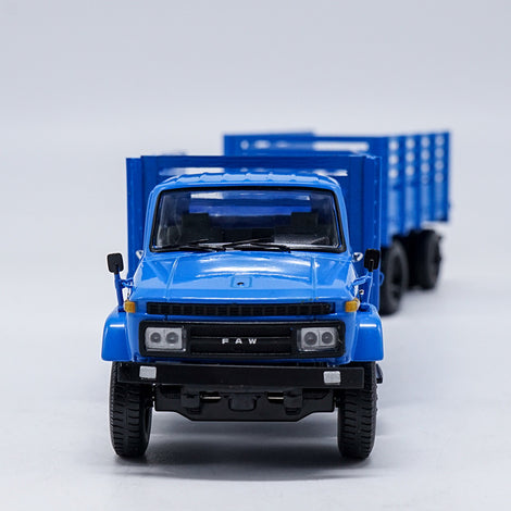 Original Classic Diecast 1:50 Jiefang  CA141 Full trailer truck models for Christmas gift