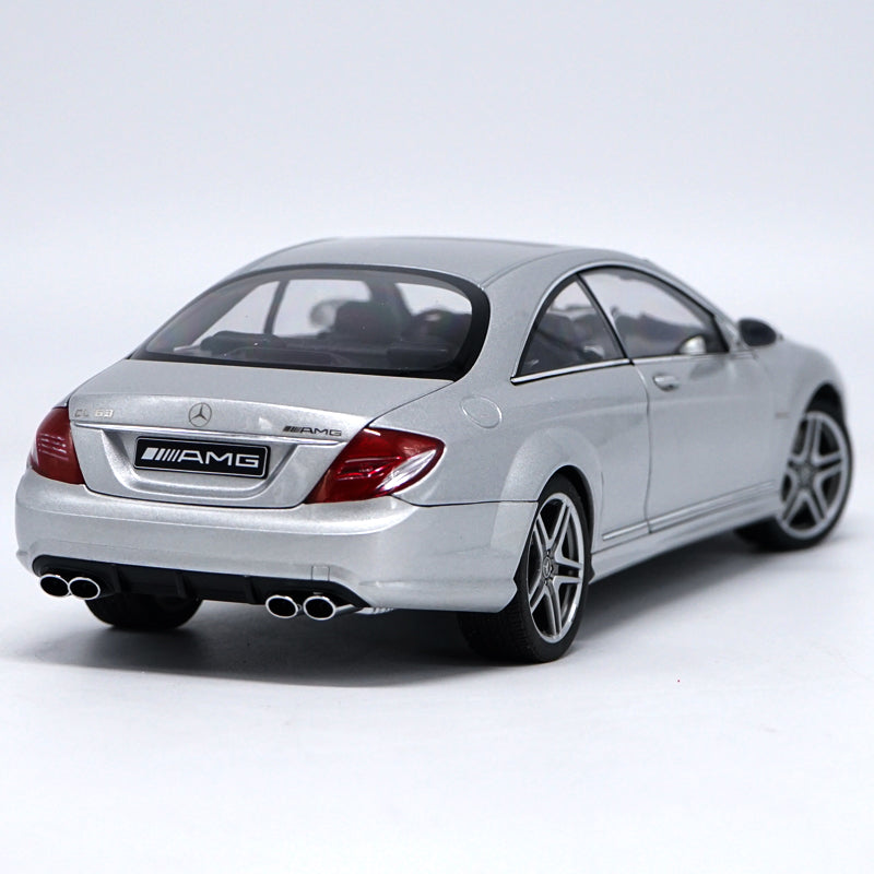 1 18 Autoart Mercedes-benz CL63 Amg Silver diecast model car