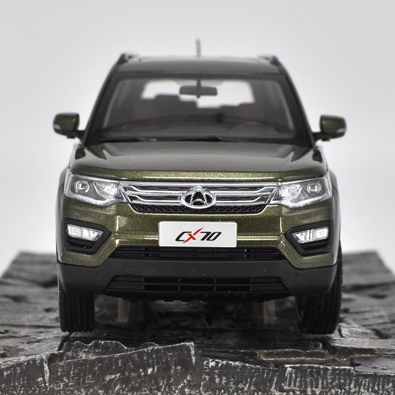 Car Model Changan Cx70 Suv 1:18 (green)