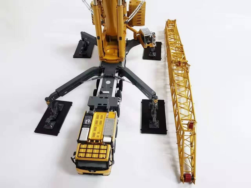 Classic original New Launch 1:50 XCMG XCA1200 All Terrain Crane Model, 1200 tons crane replica crane for chirsitmas, birthday gift