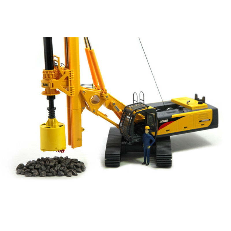 1/35 Scale Model XCMG XR220 Rotary Drilling Rig Diecast Model