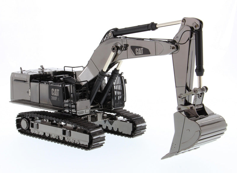 DM85547 Caterpillar 390F L Hydraulic Tracked Excavator,1/50 Scale Silver cat excavator model