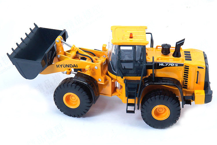Die cast collectible 1:40 HYUNDAI HL770-9 Wheel Loader Engineering Machinery Diecast scale Model