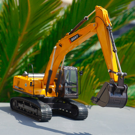 Diecast 1 35 Sany Sy215c-9 Excavator Engineering Machinery