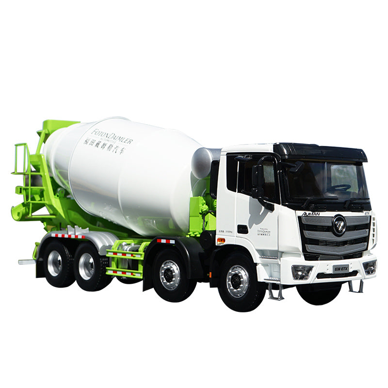 1:24 Original Foton Daimler Auman EST LOXA ETX 8*4 concrete mixer diecast engineering truck model