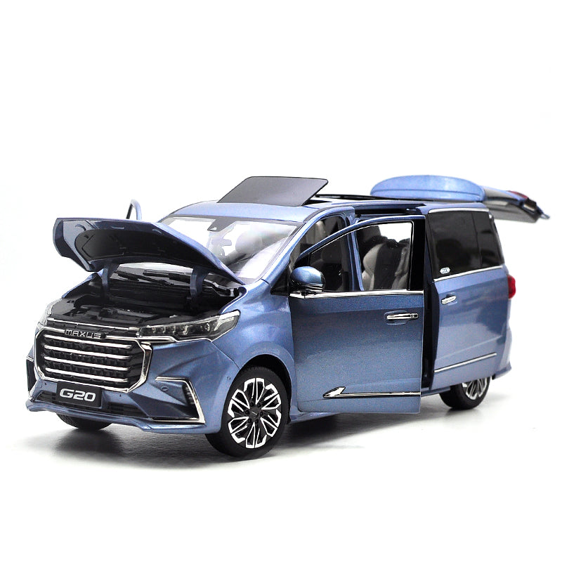 High classic original factory 1:18 SAIC datong G20 MAXUS MPV diecast alloy car model with samll gift