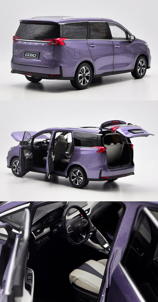 Original factory authentic 1:18 SAIC datong G50 maxus mpv diecast alloy car model with samll gift