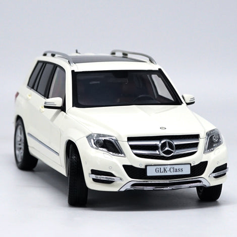 1:18 Mercedes-benz Glk 300 Suv Die Cast Model White