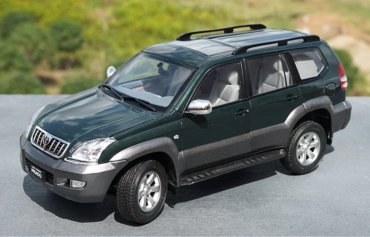 Original factory authentic 1:18 FAW toyota Prado GX 2008 diecast off-road vehicle scale model for gift, collection
