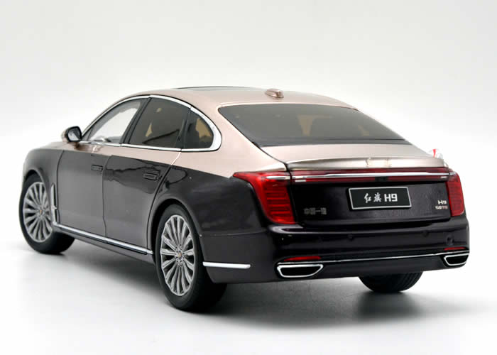High classic authentic 1:18 FAW Hongqi H9 diecast alloy car model for birthday gift, Christmas gift