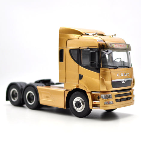Original factory authentic CAMC heavy truck 1:28 Hanma H9 tractor trailer alloy scale models for gift, collection