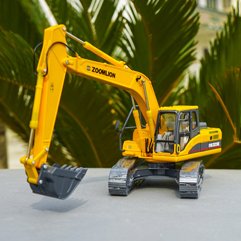 Original Authorized Authentic 1:50 Zoomlion ZE230E Hydraulic Excavator Diecast excavator model for Christmas gift,collection