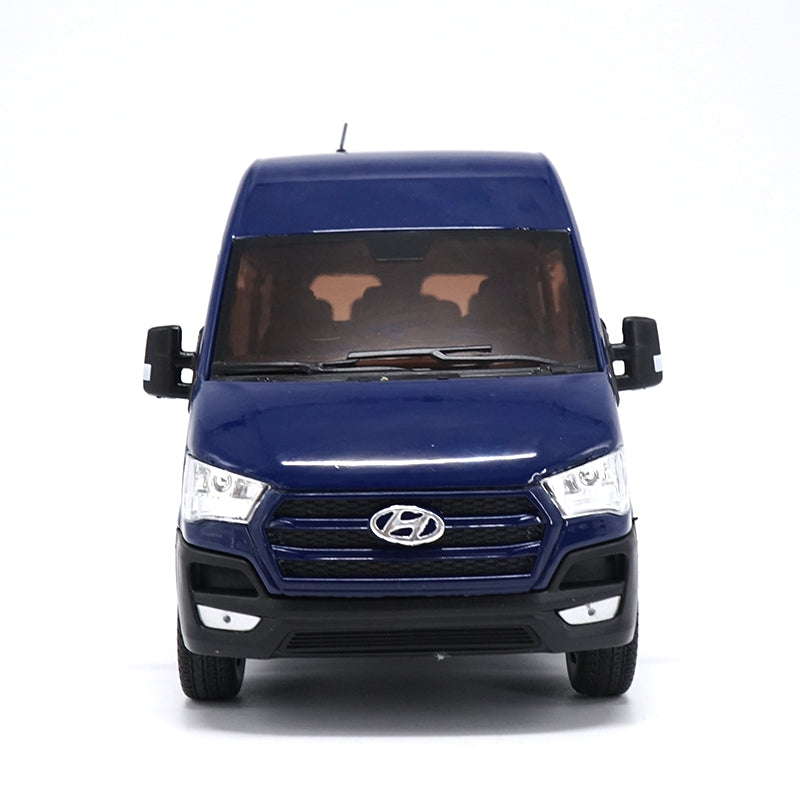 High simulation 1:24 HYUNDAI SOLATI H350 MPV (BLUE) DIECAST MODEL VAN