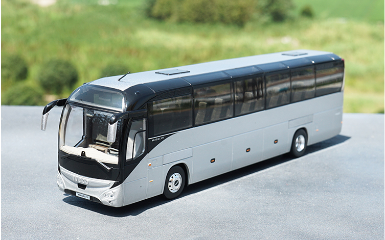 Original high classic authentic 1:43 NOREV Iveco Magelys Irisbus diecast scale bus model for promotional, gift